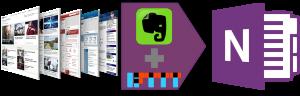 Onenote-Evernote clipper